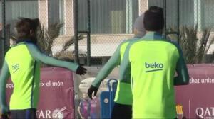 El Barça prepara su encuentro contra el Real Sociedad