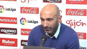 """Abelardo se marcha emocionado del Sporting: """"Siempre he pensado en el Sporting antes que en mí"""""""