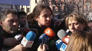 """Pablo Iglesias: """"No debemos mirarnos tanto el ombligo"""""""