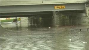 Houston registra las primeras inundaciones importantes del año en EEUU