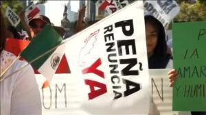 """Miles de mexicanos salen a la calle contra el """"Gasolinazo"""""""