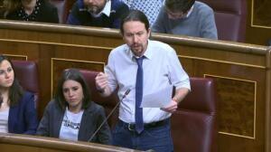 """Rajoy responde a la pregunta de Iglesias sobre corrupción: """"Menos mal que usted no es Robespierre"""""""