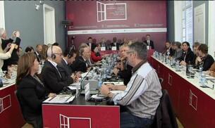 Arranca la Conferencia de Paz en San Sebastián