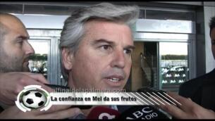 """Guillén: """"Hasta que no tengamos 43 puntos, no pensamos en otro objetivo"""""""