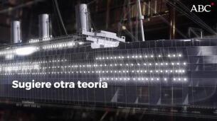 Desmienten la teoría del incendio de Titanic