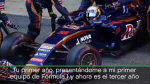 Carlos Sainz Jr: «El tiempo vuela en la Fórmula 1»