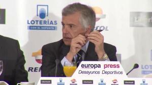 Samaranch, ve posible la candidatura de Madrid a los Juegos