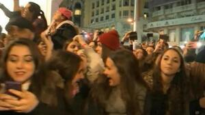 Justin Bieber echa a correr para huir de sus fans