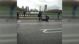 Un muerto y varios heridos junto al Parlamento Británico