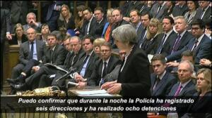 """Theresa May: """"No tenemos miedo"""""""