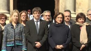 Govern y Ayuntamiento de Barcelona condenan el atentado de Londres