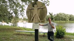 El Presentador de televisión, Cristian Gálvez, descubre el verdadero rostro de Leonardo da Vinci