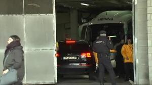 La selección israelí llega a Gijón entre fuertes medidas de seguridad