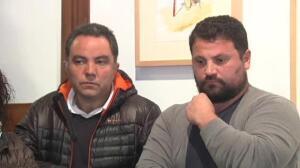 Una veintena de padres comparecen ante los medios para pedir perdón por la pelea que les enfrentó contra el club rival