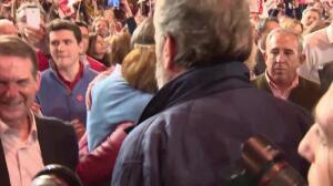 Susana Díaz anuncia candidatura arropada por históricos PSOE