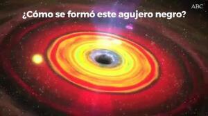 Un agujero negro se dirige a la Tierra