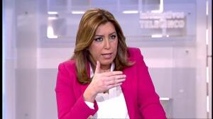"""Susana Díaz: """"Cada vez que habla Montoro me echo a temblar"""""""