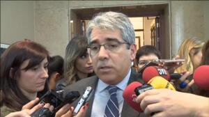 """Homs: """"Mientras unos hacen propaganda en Cataluña, a otros nos van a echar del Congreso por haber puesto urnas"""""""
