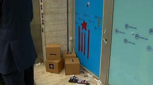 El Partido Popular denuncia los altercados en su sede de Barcelona