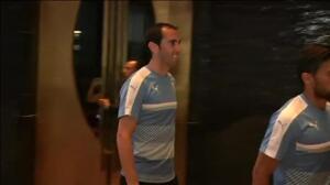 Suárez vuelve con la selección de Uruguay