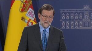 """Rajoy asegura que """"respetará"""" la decisión que adopte Ciudadanos ante la moción de censura presentado por el PSOE en Murcia"""