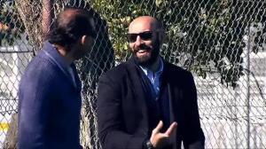 Monchi acude al entrenamiento del Sevilla en medio de los rumores sobre su marcha a la Roma