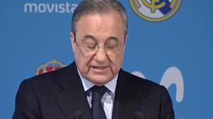 """Florentino Pérez: """"En el Real Madrid sólo importan los valores deportivos"""""""