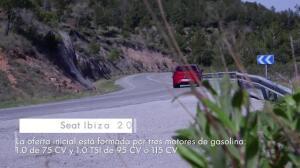 Seat Ibiza 2017 en movimiento