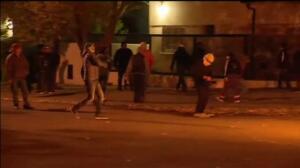Violentos disturbios frente a la casa de la gobernadora de Santa Cruz (Argentina)
