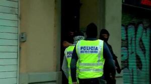 Varios detenidos y doce inmuebles registrados en una operación antiyihadista en Barcelona