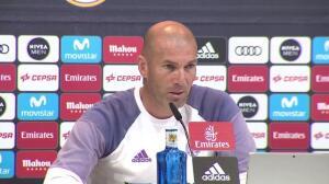 """Zidane, """"disgustado"""" con la lesión de Bale"""