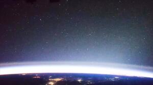 Rayos y objetos misteriosos, captados desde la ISS