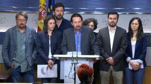Podemos quiere una moción de censura a Rajoy