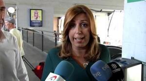 """Susana Díaz: """"Ahora lo que hay que hacer es apoyar a Pedro y arrimar el hombro"""""""