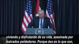 Donald Trump condena el atentado suicida de Manchester