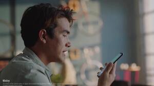 Burlan el escáner de iris de Samsung Galaxy S8