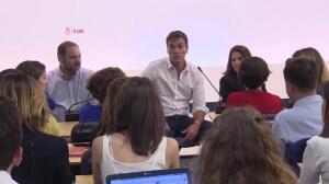 PSOE comunica al Congreso la designación de Ábalos como portavoz