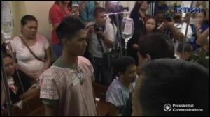 Duterte visita a los soldados heridos en los enfrentamientos con Daesh