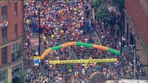 Multitudinario maratón en Manchester en homenaje a las víctimas de atentado