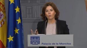 Santamaría ve clima preelectoral en Cataluña