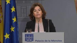 "Sáenz de Santamaría: ""Hemos logrado entre todos aunar diferentes sensibilidades políticas"""