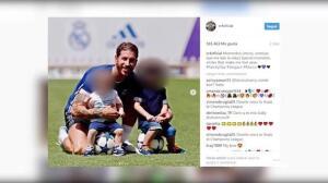 Sergio Ramos muestra su lado más romántico