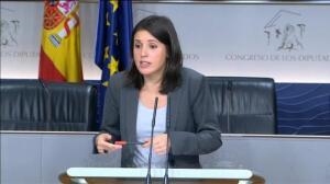 """Irene Montero: """"No le vamos a dar un segundo de aire al Partido Popular"""""""