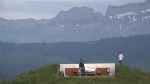 Un hotel suizo mueve sus camas a las montañas