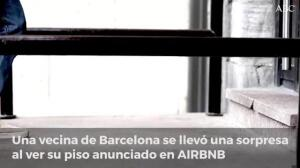 Una mujer se ve obligada a alquilar su propio piso a través de la plataforma Airbnb para poder recup
