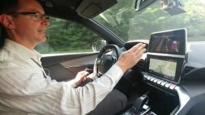 Prueba del coche autónomo de PSA