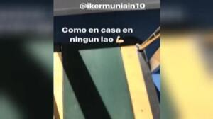 Yeray Álvarez entrena en Lezama