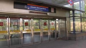 El Estadio Metropolitano ya tiene su parada de metro