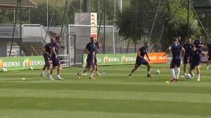 El Athletic ya trabaja con vista puesta en el primer compromiso oficial de la temporada