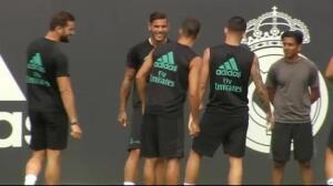 Bale entrena ajeno a los deseos de 'Mou'